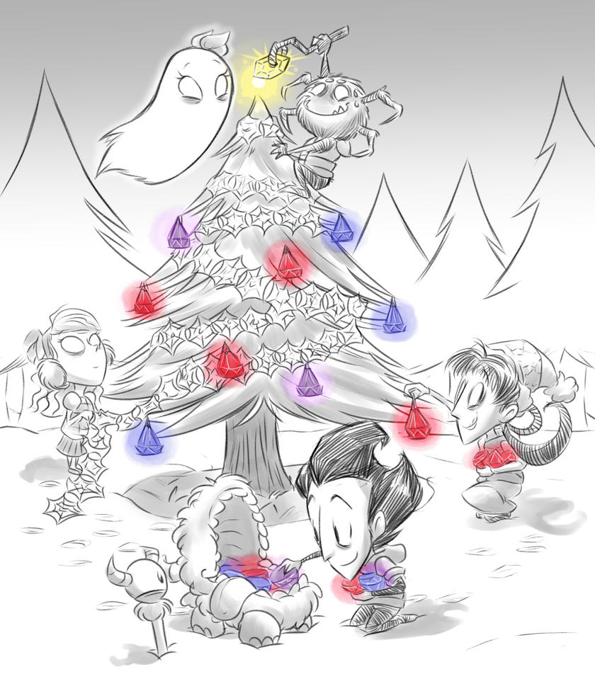 Don't Starve Chirstmas by Ka-Star