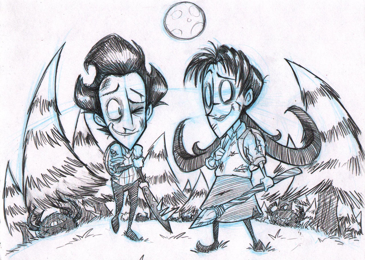 don t starve willowson we make a good team by ka star on don t starve willowson we make a good team by ka star