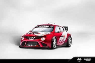 Nissan Juke WRC white BG