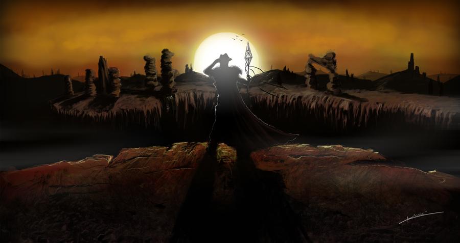 Fantasy Art Desert Landscapes Desert Fantasy Landscape by