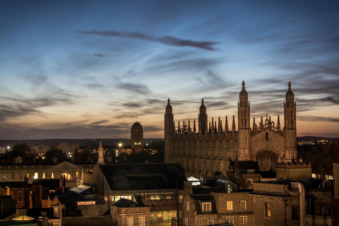 Kings College, Cambridge by Fredzz