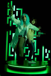 Rick and Morty Genderbend Cosplays