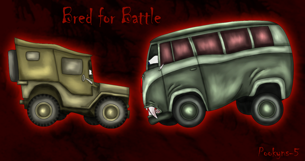 bred for battle 'Cars art' by pookyhorse