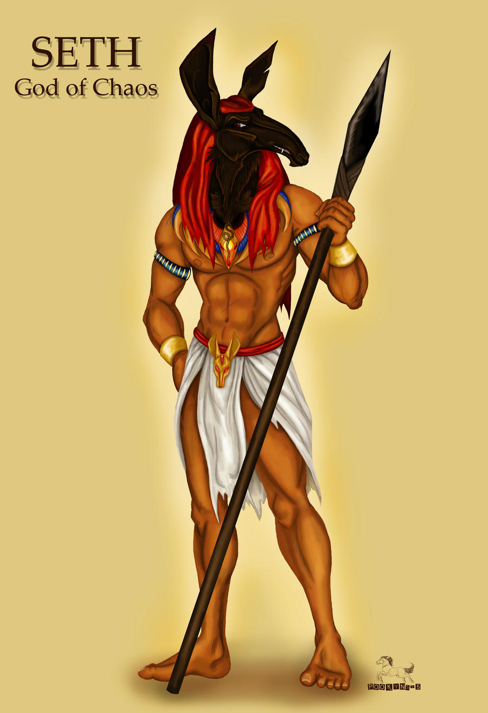 Egyptian Evil God Seth...