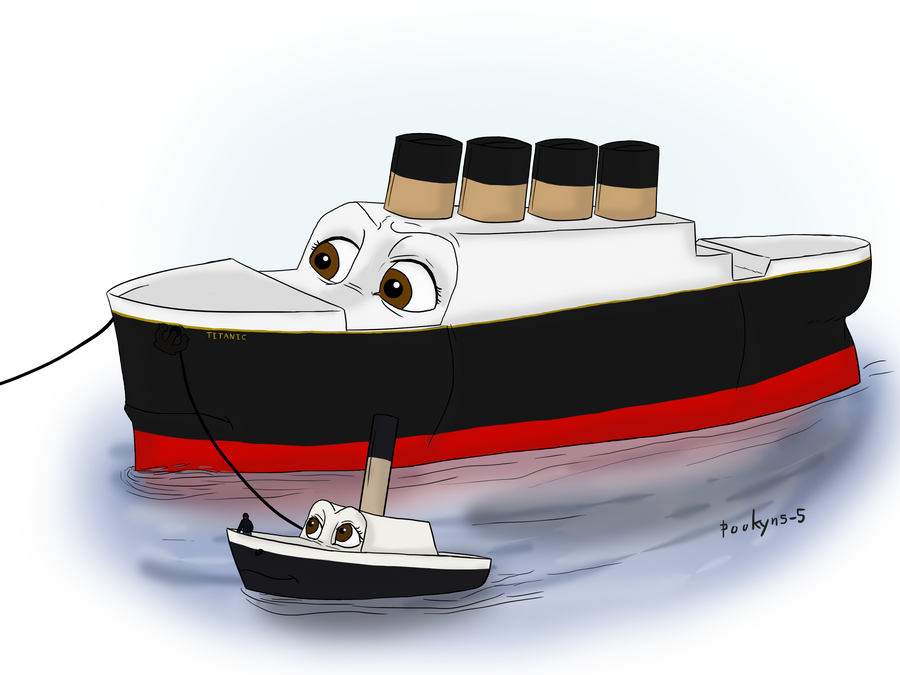 Young Titanic by pookyhorse