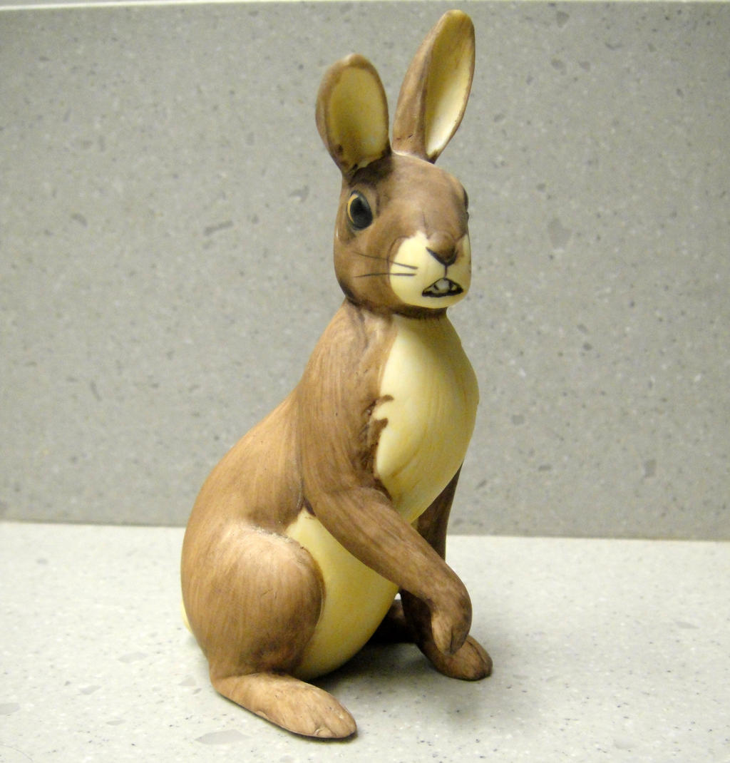 Watership Down Hazel Figurine by pookyhorse