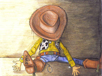 worn-out woody by pookyhorse