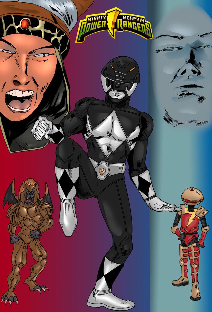 Black Power Ranger by Narcisticthinker