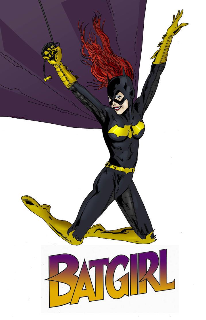Batgirl pinup by Narcisticthinker