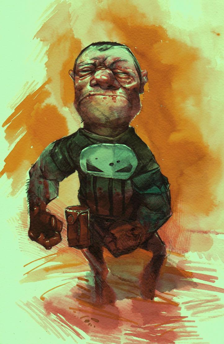 Punisher by DanielGrzeszkiewicz