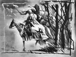 knight in white satin by DanielGrzeszkiewicz