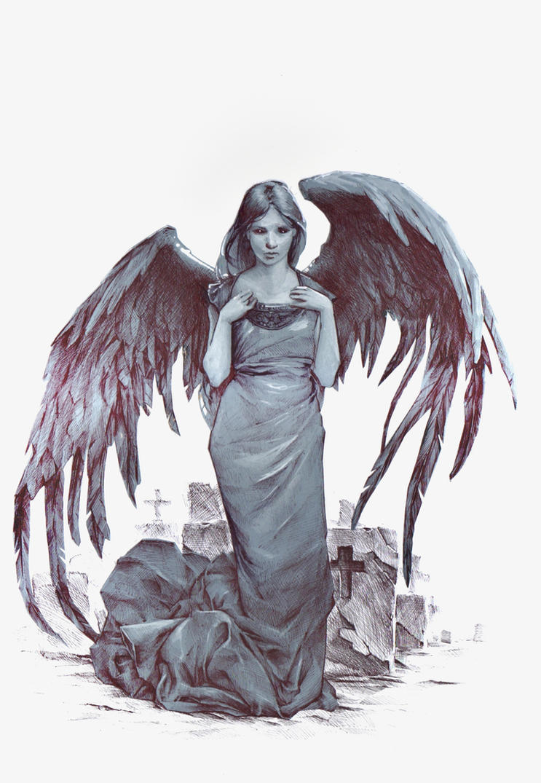 dark angel by DanielGrzeszkiewicz