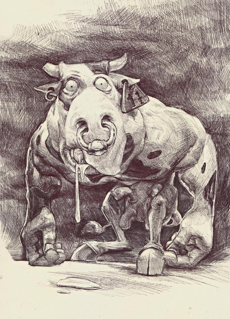 MAD COW by DanielGrzeszkiewicz