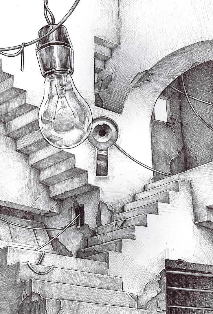 stairs by DanielGrzeszkiewicz