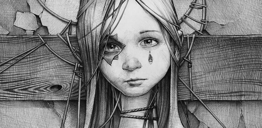 crying by DanielGrzeszkiewicz