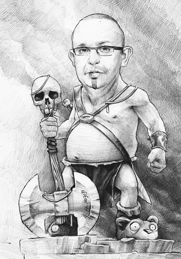 Eric the Barbarian by DanielGrzeszkiewicz