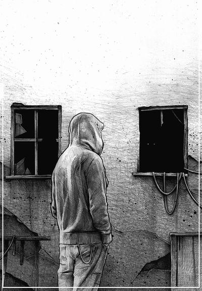 lonely man by DanielGrzeszkiewicz