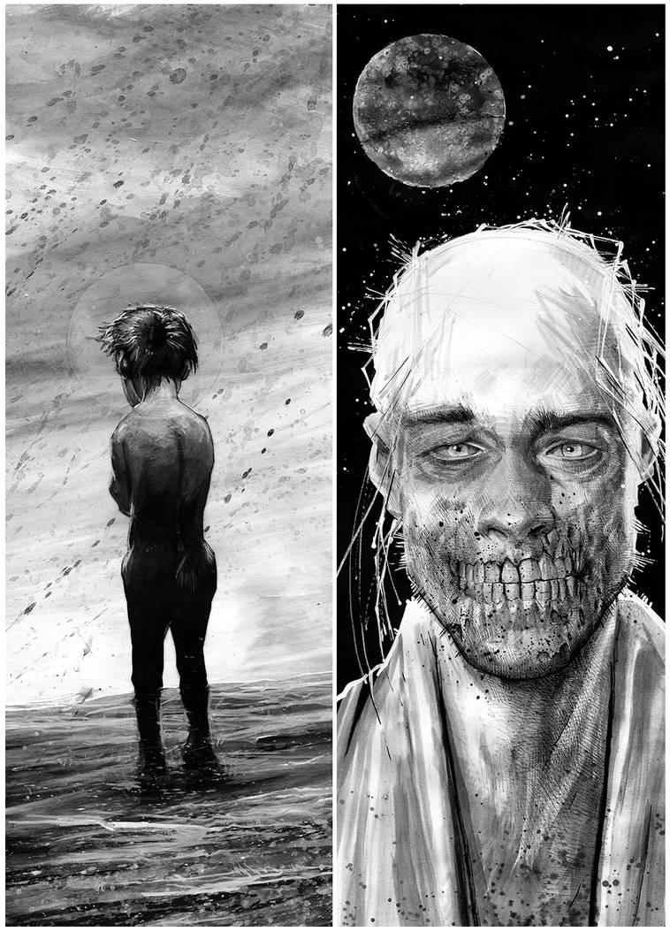 The Saint and The Sinner by DanielGrzeszkiewicz