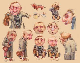 Hobo concept art by DanielGrzeszkiewicz