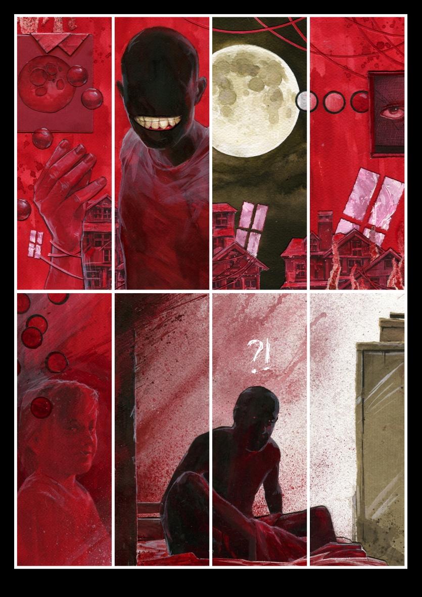 red page by DanielGrzeszkiewicz