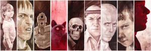 faces by DanielGrzeszkiewicz