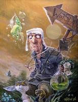 absinthe... by DanielGrzeszkiewicz