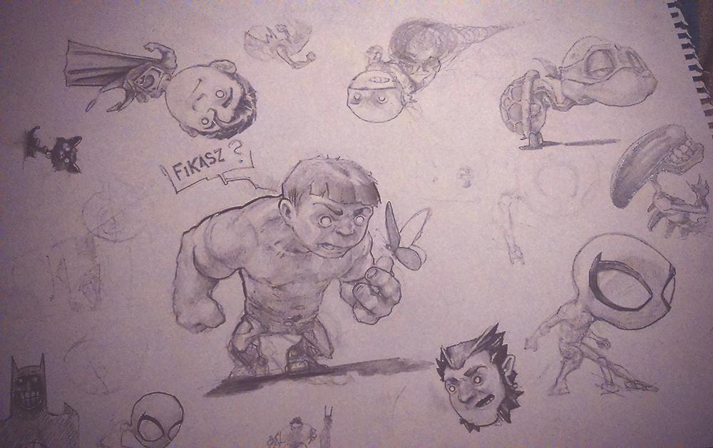 sketches from travel by DanielGrzeszkiewicz