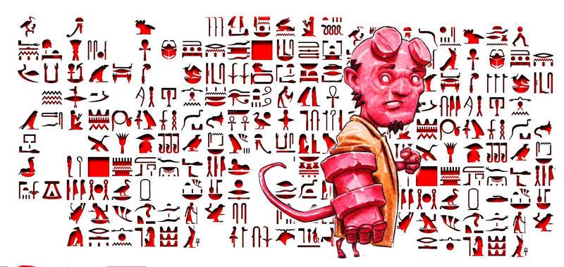 hellboy... by DanielGrzeszkiewicz