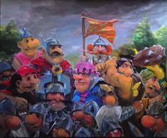 Battle of Grunwald by DanielGrzeszkiewicz