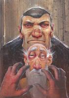 Rag and Bones fanart by DanielGrzeszkiewicz