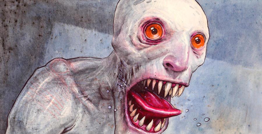horror by DanielGrzeszkiewicz