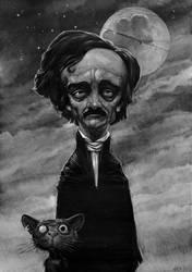 E.A.Poe by DanielGrzeszkiewicz