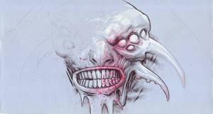 monster collab W.I.P. by DanielGrzeszkiewicz