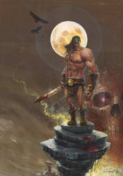 Conan the Barbarian by DanielGrzeszkiewicz