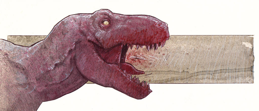 T-Rex by DanielGrzeszkiewicz