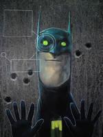 Bat-fanart day1 by DanielGrzeszkiewicz