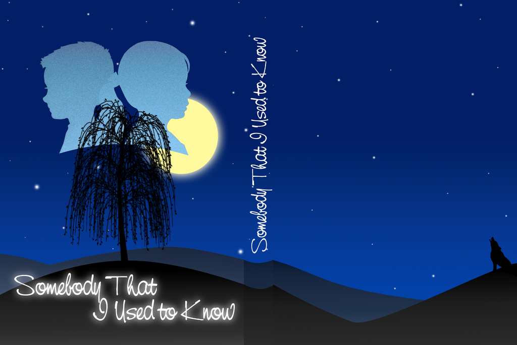 Book Cover Art Software ~ Somebody that i used to know book cover by caeciliandita
