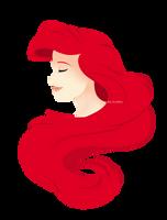 Ariel  Little Mermaid by CaeciliAndita