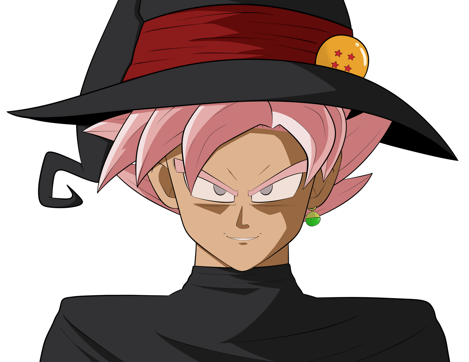 Goku Black Ssj Rose Para Colorear: Goku Black Super Saiyan Rose Halloween By EatMyMaymays On