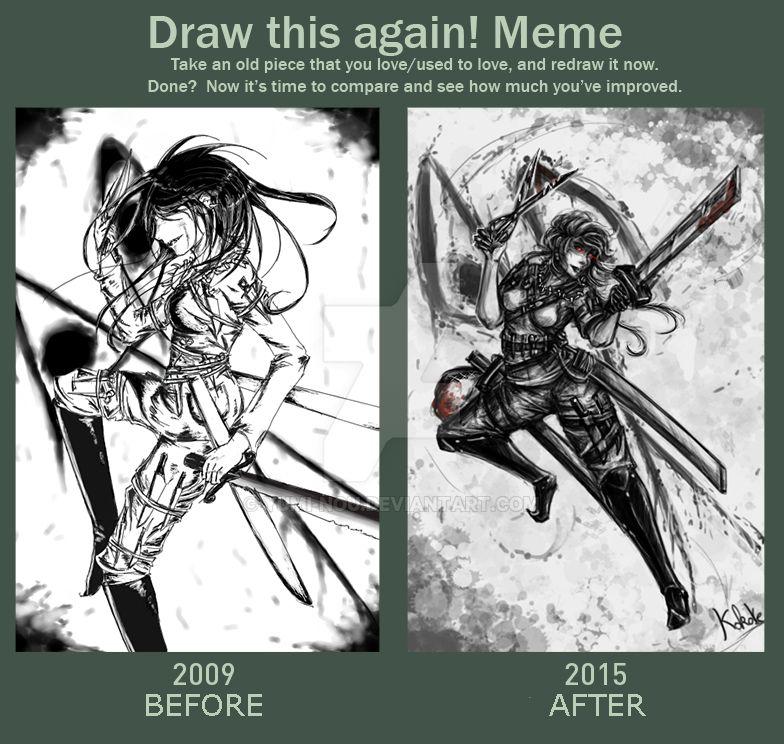 Draw this again ! Meme : Grimalkin by Yumi-nou