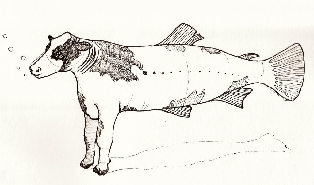 Cowfish by jaimeiniesta
