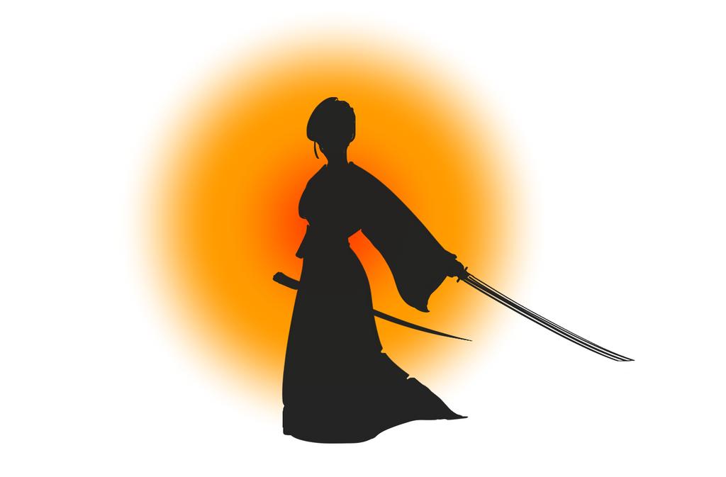Female samurai by jaimeiniesta