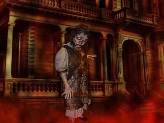 Lormet-manip-Zombie-haunt3 by Lormet-Images