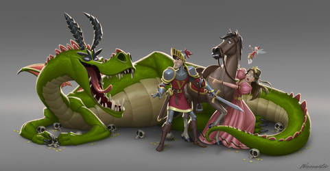 #Fairytales Things Main Characters