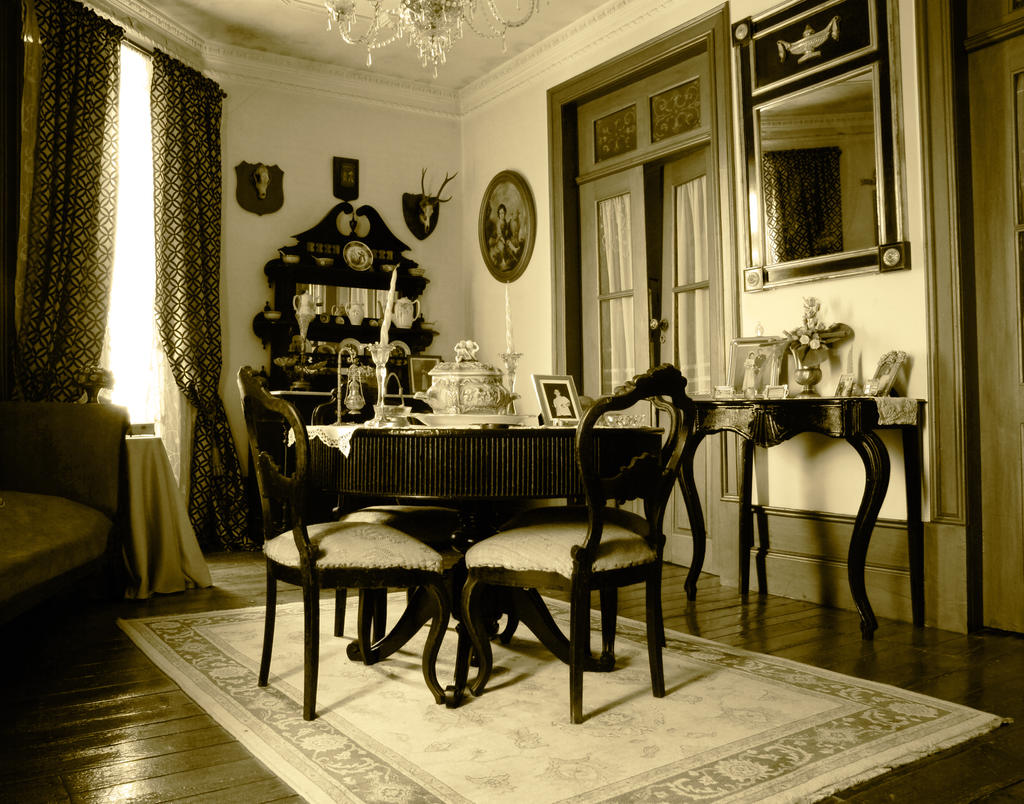 old living room sepia by marcosrodriguez on deviantart. Black Bedroom Furniture Sets. Home Design Ideas
