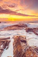 seascape, vertical by MarcosRodriguez
