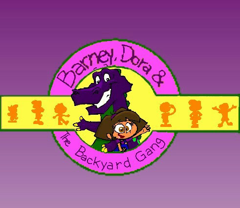 Barney, Dora the Backyard Gang title(Version 2) by ...