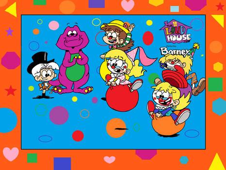 Barney's Bouncing Clowns