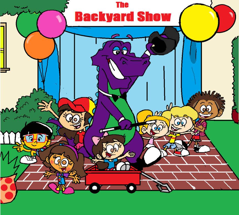 The Backyard Show- Remake by PurpleDino100 on DeviantArt
