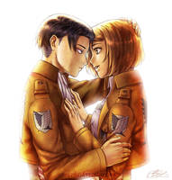 Levi and Petra by Suncelia